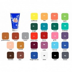 kerling-kiomi-kids-aquacream-makeup-maquillaje-fluido-niños-colores-fantasia-marrones-color-chart