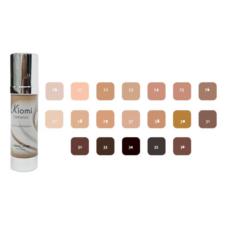 kerling-kiomi-aquacream-makeup-maquillaje-color-piel-marron