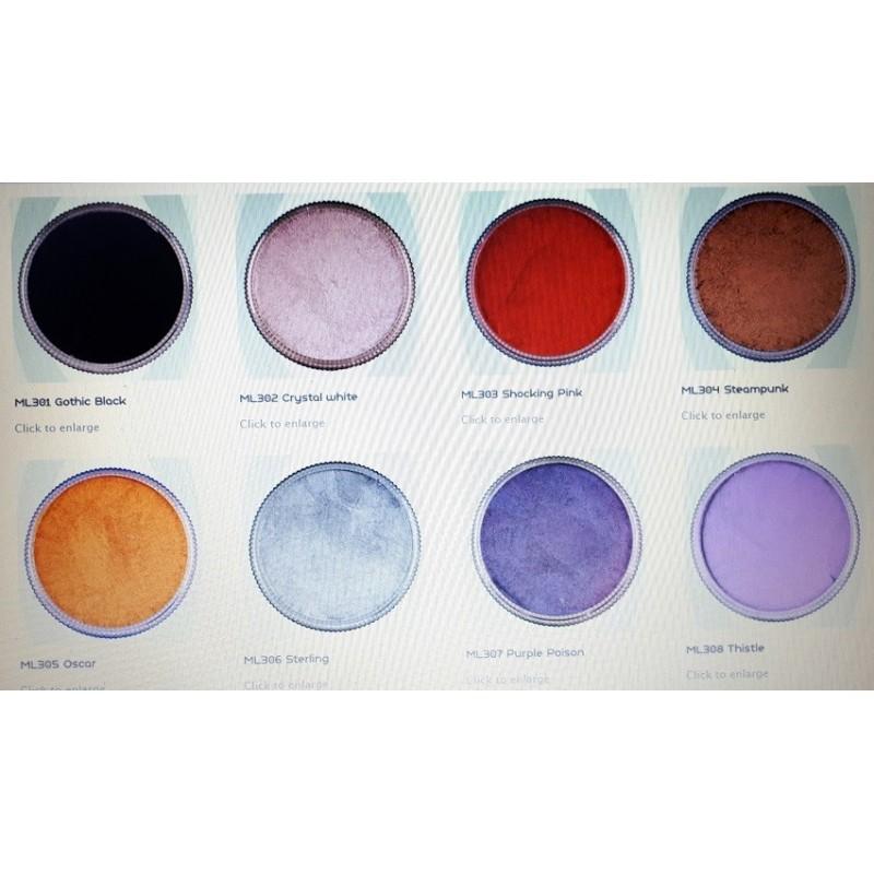 Kiomi Aquacream Make Up - Maquillaje Colores Marrones y Piel - Mate 30ml