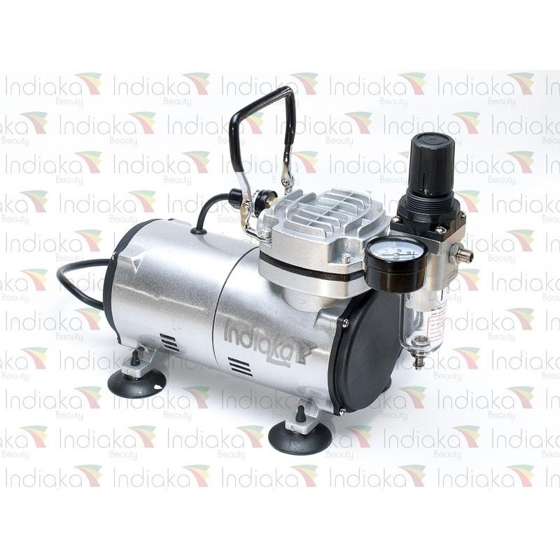indiaka-airbrush-compresor-automatico-piston-libre de aceite